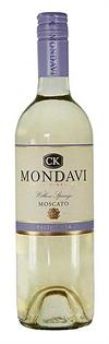 CK Mondavi Moscato Willow Springs 750ml - Case of 12
